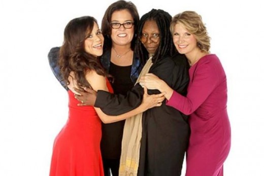 rosie odonnell and the view